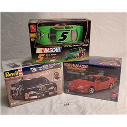 3 Automotive Model Kits