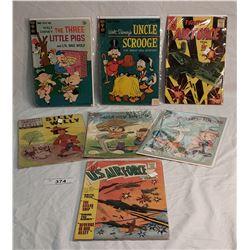 7 Vintage Comic Books