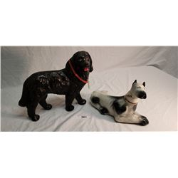 Jim Beam Great Dane & Newfoundland Screech Dog