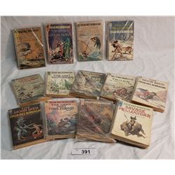 13 Edgar Rice Burroughs Books