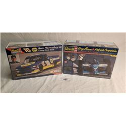 2 Race Car Model Kits