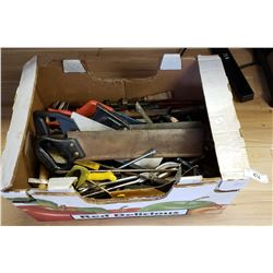 Large Box Lot of Tools