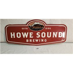 Howe Sound Brewing Aluminum Sign