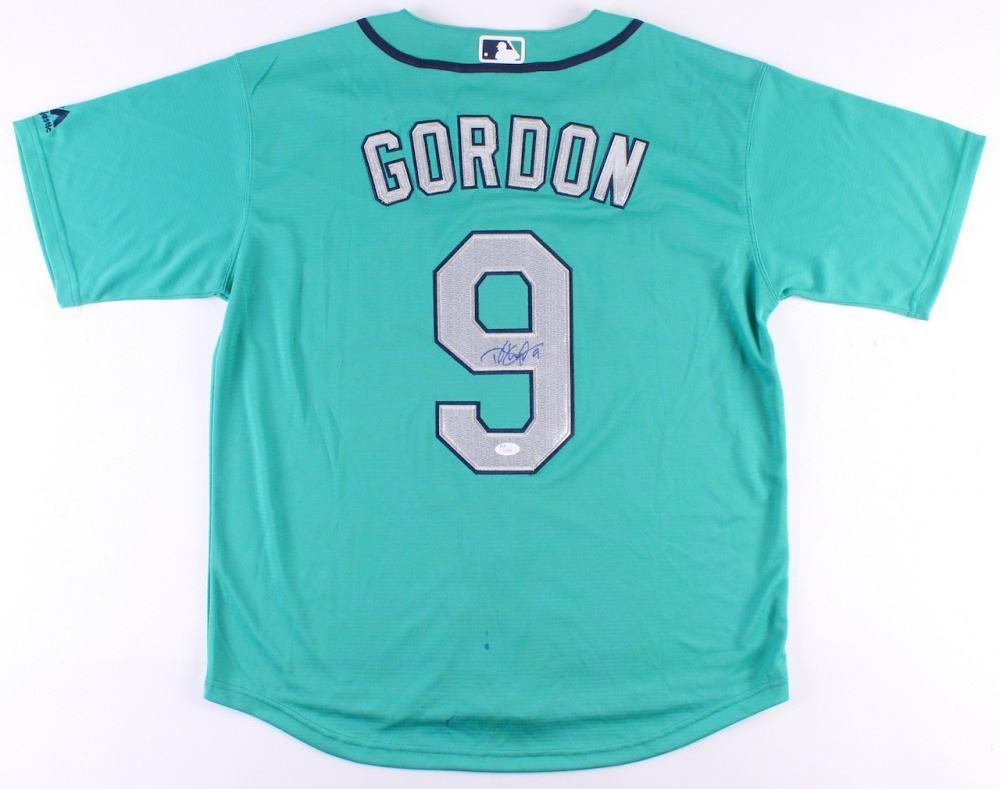 the best attitude 76c1d fd45d DEE GORDON SIGNED MARINERS BASEBALL JERSEY (JSA COA)