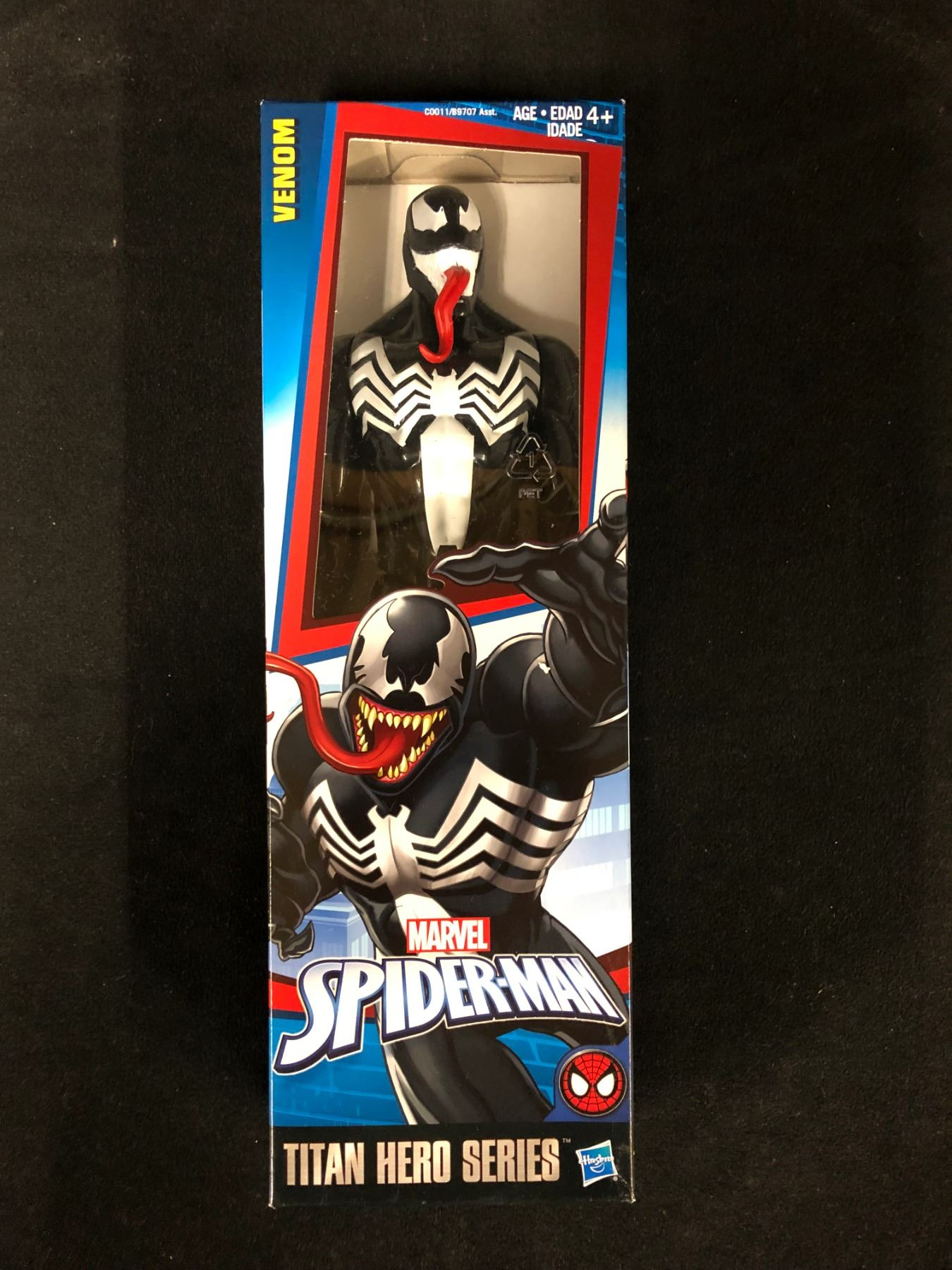 Marvel Venom Spider-Man Titan Hero Series Action Figure