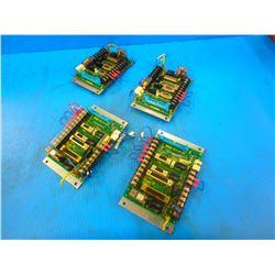(4) FANUC A20B-1006-0298/01A CIRCUIT BOARD