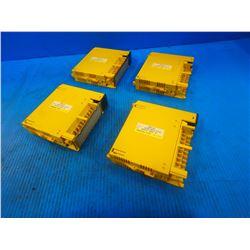 (4) FANUC A03B-0819-C153 INPUT MODULES