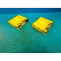 (2) FANUC A03B-0807-C154 INPUT MODULES