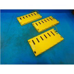 (3) FANUC A03B-0807-C002 MODULE BASE
