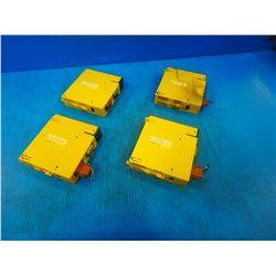 (4) FANUC A03B-0807-C011 INPUT MODULE