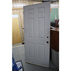 "Exterior Door - 36"" - White  ** Must Pick Up"