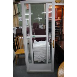 "Screen Door - 32"" - White ** Must Pick Up"