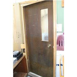 "Interior Door with Window with Door Jam - 36"" ** Must Pick Up"