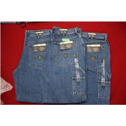Carpenter Denim Jeans - Good Quality - Relaxed Fit ** Size 34 Waist/34 Leg - 3 prs (One Money)