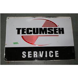 "Tecumseh Service Metal Si9gn - approx. 30"" x 40"""