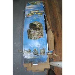 Delux Two Man Camo Chair Blind by Real Tree ** Must be Picked Up