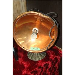 Electric Heater w/a Copper Deflector