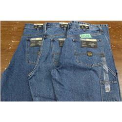 Carpenter Denim Jeans - Good Quality - Relaxed Fit ** Size 36 Waist/32 Leg - 3 prs (One Money)