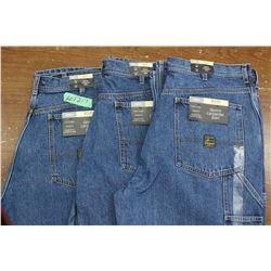 Carpenter Denim Jeans - Good Quality - Relaxed Fit ** Size 38 Waist/32 Leg - 3 prs (One Money)