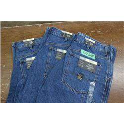 Carpenter Denim Jeans - Good Quality - Relaxed Fit ** Size 34 Waist/32 Leg - 3 prs (One Money)