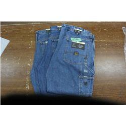 Carpenter Denim Jeans - Good Quality - Relaxed Fit ** Size 34 Waist/30 Leg - 3 prs (One Money)