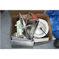 Box w/a Crock Pot, Mix Master & Baking Pan