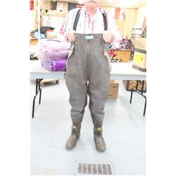 Pair of Chest Waders - Size 12