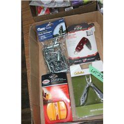 Choke Wrench; Multi-Tool; Fish Stringer & a Knife Sharpener