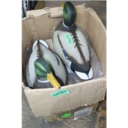 Box of 6 New Mallard Decoys