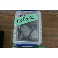 2 lb. Box of Foreign Coins