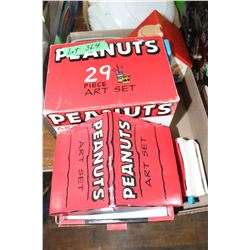 Flat w/Peanuts & Snoopy Collectibles