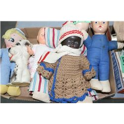 Flat w/Collectible Dolls (Reliable, Ideal, etc.)