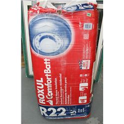 Bag of Insulation - R22 - 16  (For 2 x 6 Wall)