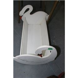Cradle with Swan Ends