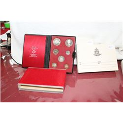 2 - 1972 Canada Double Dollar Coin Sets - No Silver