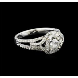 14KT White Gold 1.17 ctw Diamond Ring