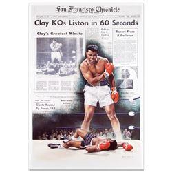 Clay KOs Liston by Ali, Muhammad