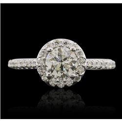14KT White Gold 1.43 ctw Diamond Ring