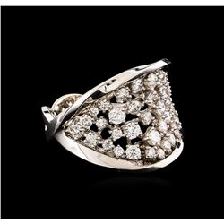 14KT White Gold 1.40 ctw Diamond Ring