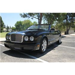 2007 Black Bentley Azure Convertible