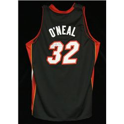 Shaquille O'Neal Miami Heat Autographed Jersey