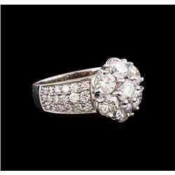 14KT White Gold 2.42 ctw Diamond Ring