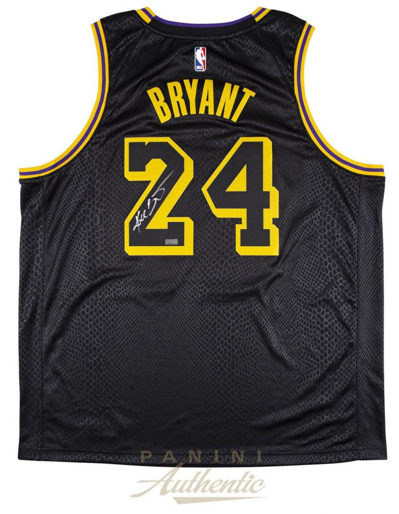 6871755c917 Image 1   Kobe Bryant Signed Lakers Nike City Edition Jersey (Panini COA)
