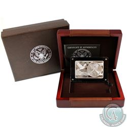 2016 United States 30th Anniversary of the Silver Eagle 3oz Bar/Coin (Tax Exempt). This item contain