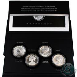 2017 United States 225th Anniversary Liberty 4-Medal Set (Tax Exempt). In this set you will receive