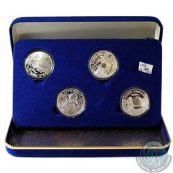 1986 Vancouver World Exposition Official Fine Silver Medallion Set (Tax Exempt). You will receive Fo