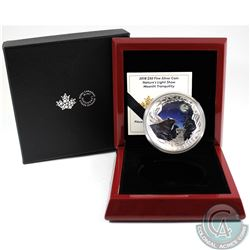 2018 Canada $50 Nature's Light Show: Moonlit Tranquility Fine Silver (Tax Exempt).