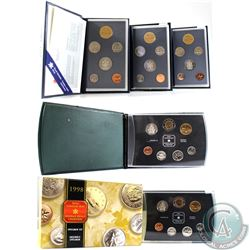 1994-1999 Canada Specimen Set Collection. You will receive 1994 (Worn Packaging), 1995, 1996 (Worn P
