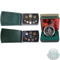 1998 Canada RCM Collection. You will receive the Specimen Set, Proof Double Dollar Set (toning) and