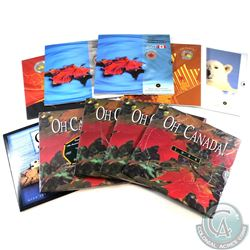 1994-2010 Oh Canada Set Collection. You will receive years, 1994, 1995, 1996, 1997, 2004, 2006, 2007